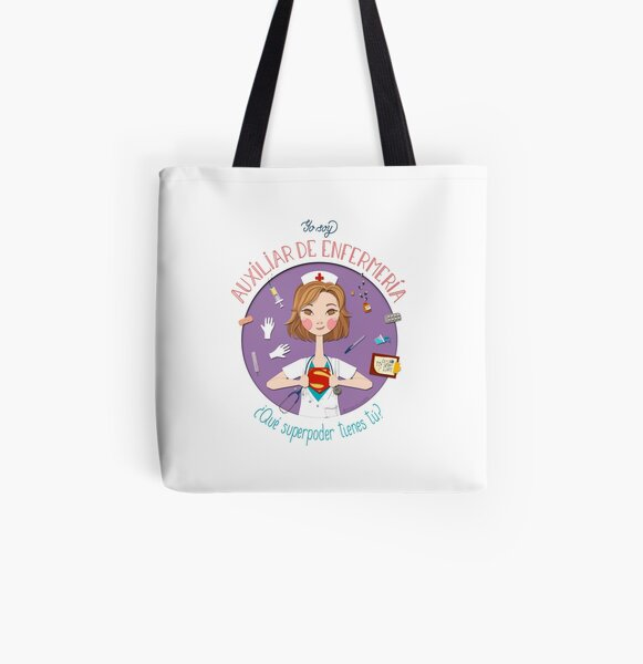 Nursing Assistant (Spanish Version) All Over Print Tote Bag