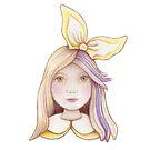 cute little bunny girl by trudette