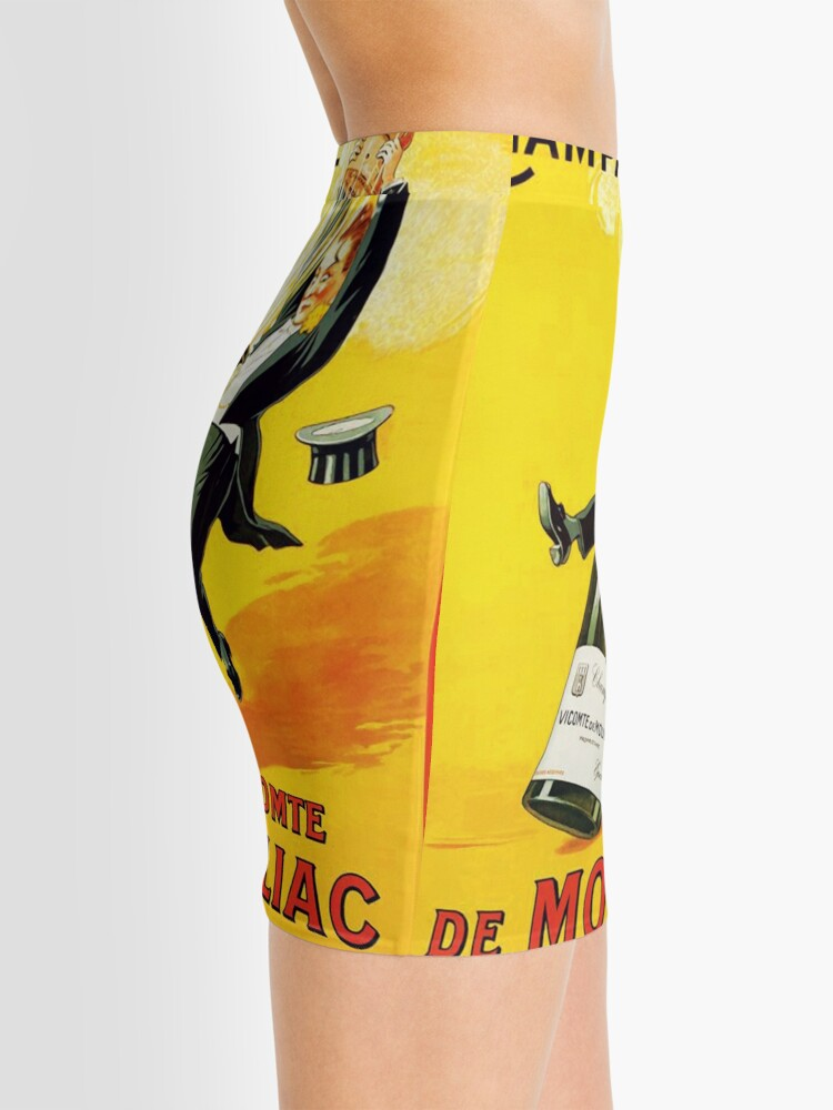 Vista alternativa de Minifalda Cartel del vino del vintage