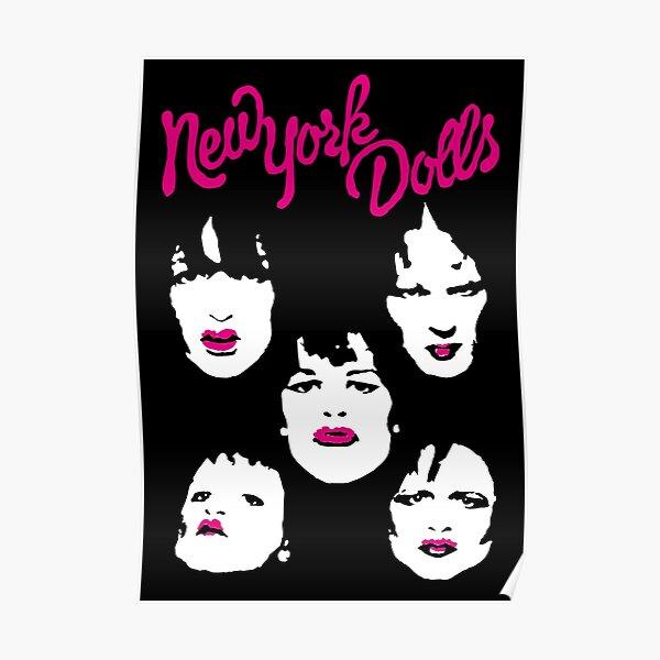 New York Dolls Poster