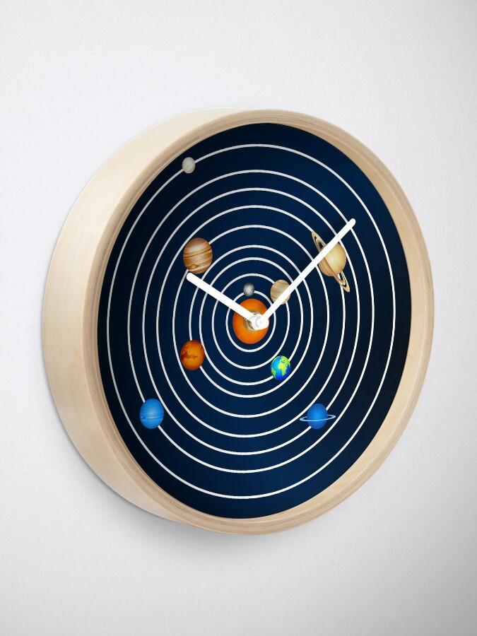 Alternate view of Solar System Clock  Clock