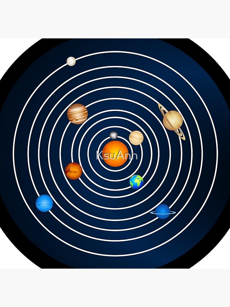 Solar System Clock  by KsuAnn