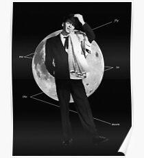 flieg mich zum Mond Poster