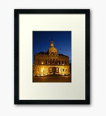 Town Hall, Cornhill, Ipswich, Suffolk Framed Print