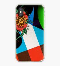 Color Block Floral iPhone Case