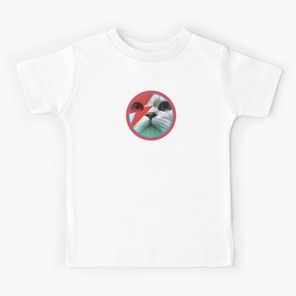 Bowie Cat Kids T-Shirt