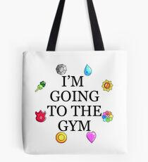 I'm Going To The Gym - Kanto Tote Bag