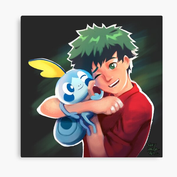 Deku & Sobble Canvas Print