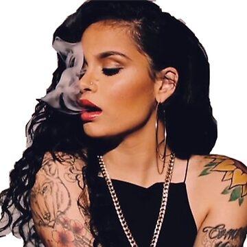 Kehlani fumando de BlkSky75
