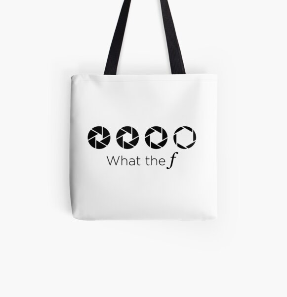 WHAT THE F All Over Print Tote Bag