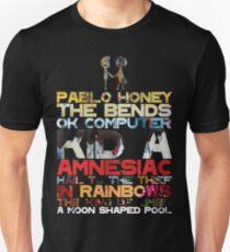 Albums de Radiohead T-shirt slim fit