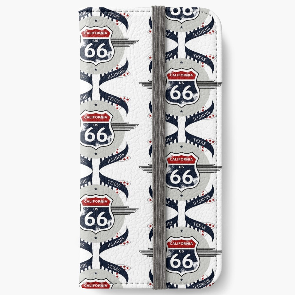 Route 66 my new version iPhone Wallet