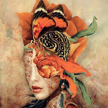 Butterfly Lady by rizapeker