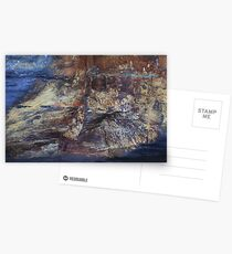 Ship Stern Bluff Rock Abstract Postcards
