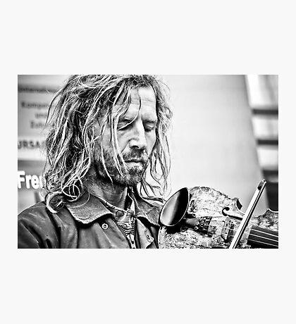One True Love...his music Photographic Print