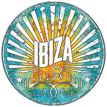 ibiza flow / Illes Baleares - islands in the sun. Das Shirt für Balearen Liebhaber!  von Periartwork