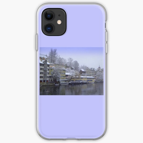 Snowy Zurich iPhone Soft Case