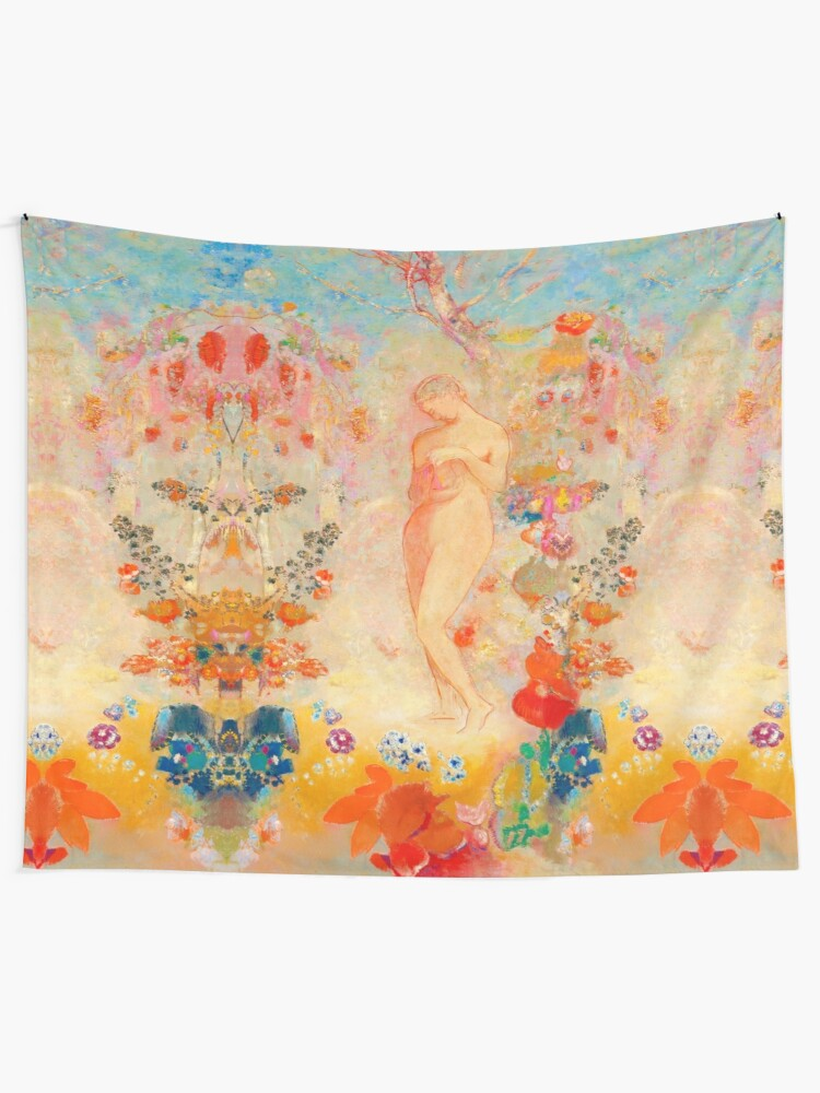 Alternate view of Pandora reimagined Tapestry