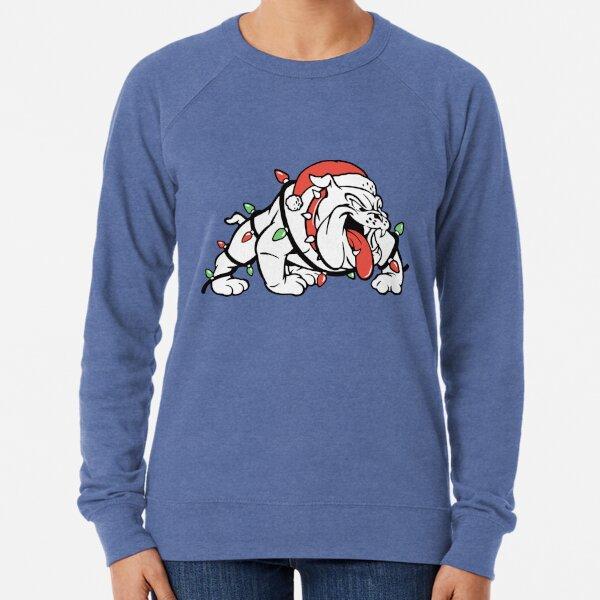 Holiday Bulldog Lightweight Sweatshirt