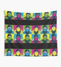 Pop Kombat Wall Tapestry