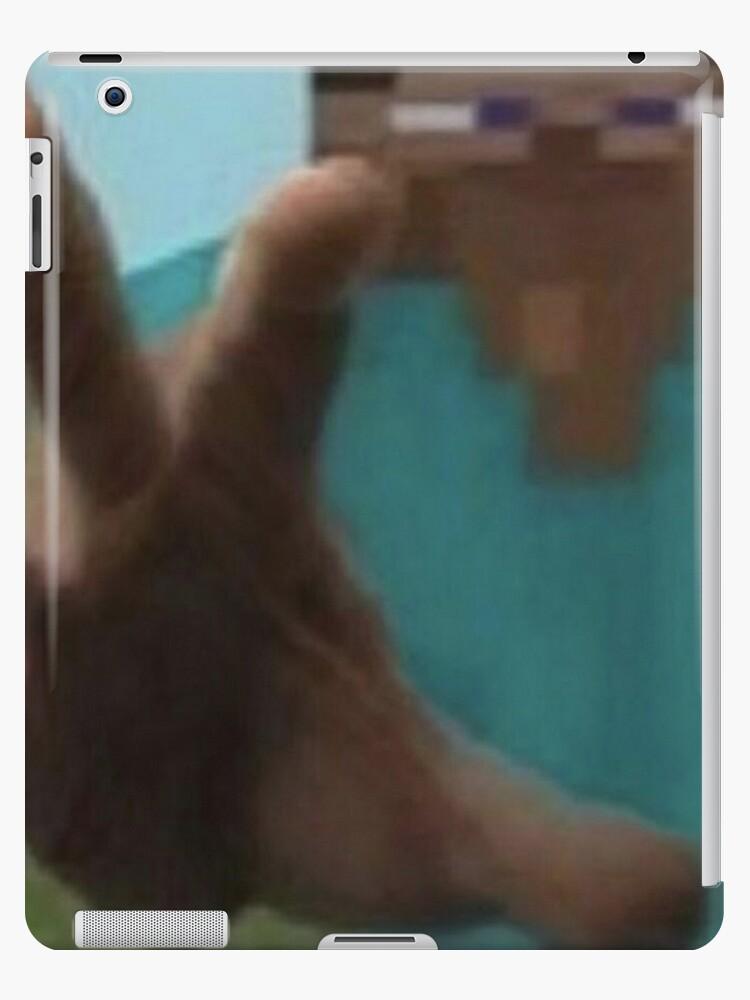Minecraft Steve Meme Ipad Case Skin By Boomerusa Redbubble