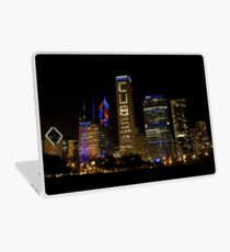 Cubs Symmetrische Skyline Chicago Laptop Skin
