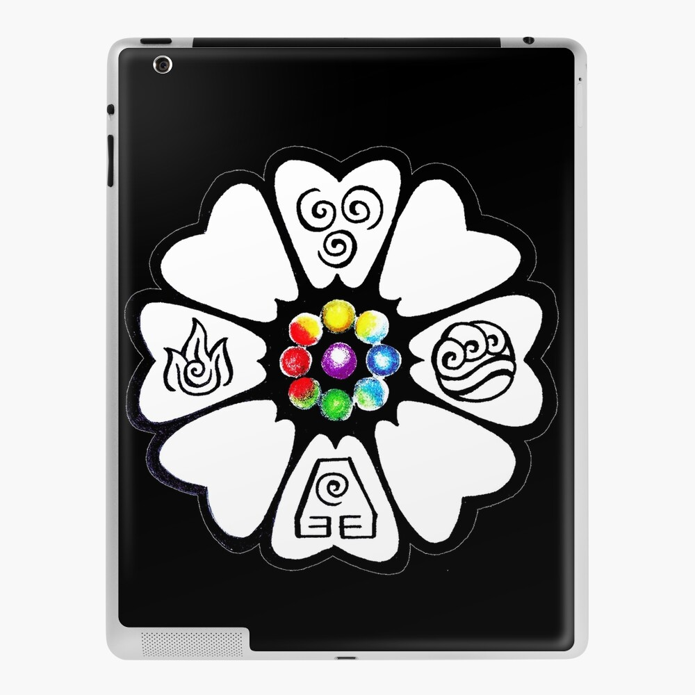 White Lotus Pai Sho Tile Ipad Case Skin By Gabatron3000 Redbubble