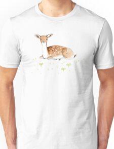 Happy Fallow Deer Unisex T-Shirt