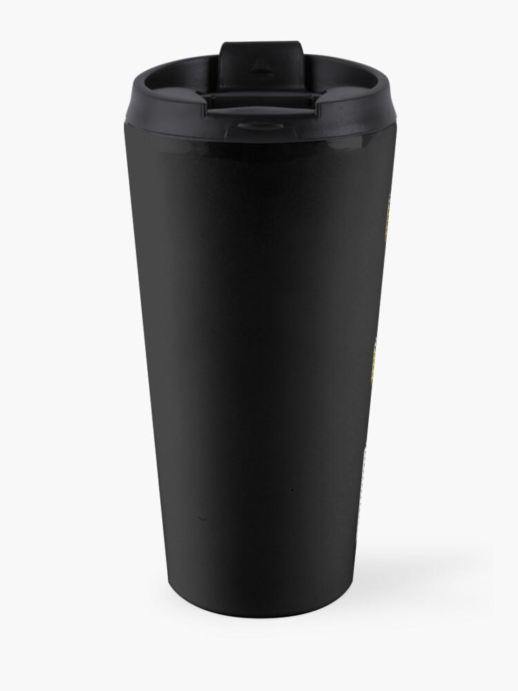 Alternate view of 3D Cad/Cam/Cae Solid Works   Black Version Travel Mug