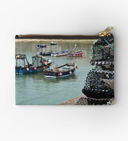 Boats & Pots Zipper Pouch