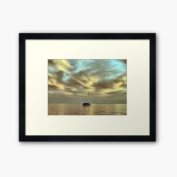 Old Man of the Sea Framed Art Print