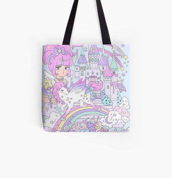 AHOMY Sports Gym Bag Unicorn Forest Fantasy Duffel Bag Travel Shoulder Bag