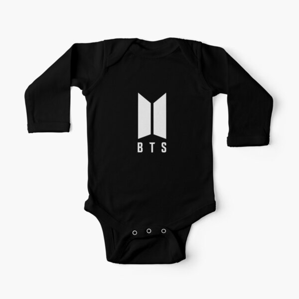 BTS Long Sleeve Baby One-Piece