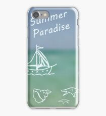 Summer Paradise iPhone Case/Skin