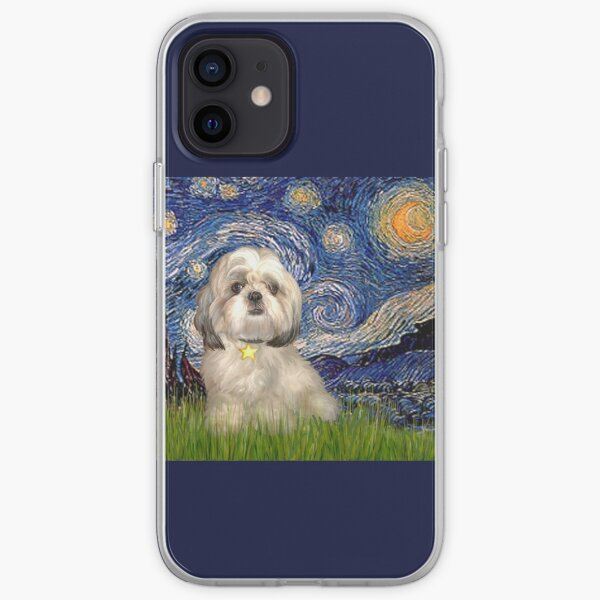 Starry Night - Shih Tzu (Y) iPhone Soft Case
