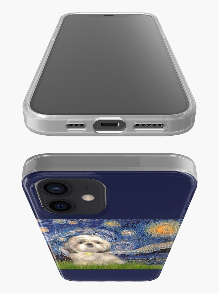 Alternate view of Starry Night - Shih Tzu (Y) iPhone Case & Cover