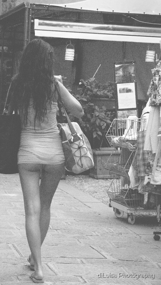 In Italy, our skirts get shorter in the summertime.  by diLuisa Photography