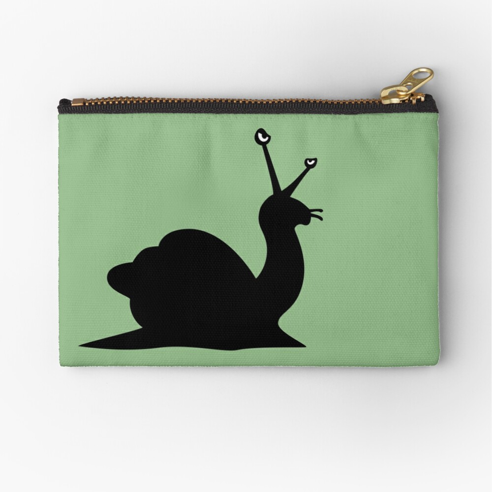 Angry Animals - Snail Zipper Pouch