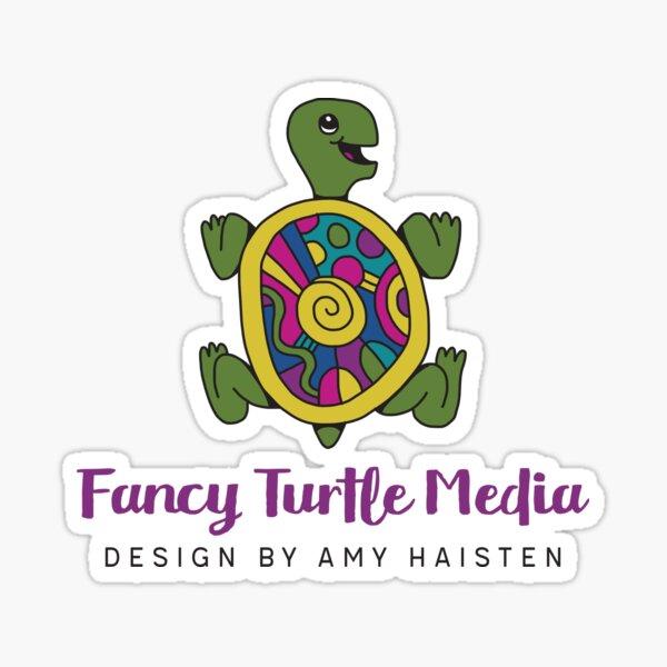 Fancy Turtle Media Logo Sticker