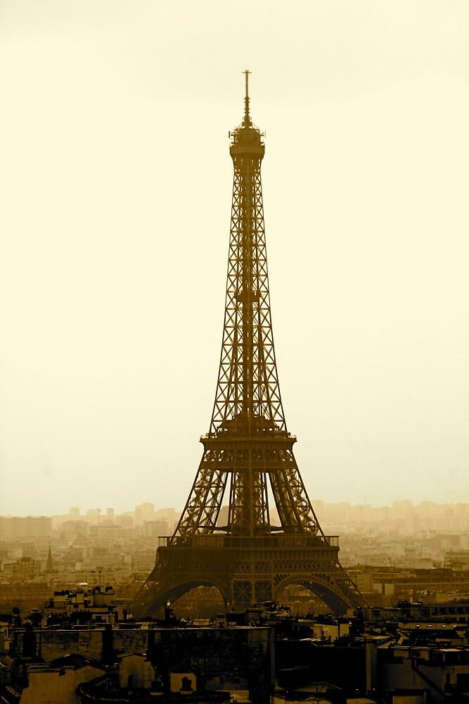 Eiffel in Sepia by Richard Pitman