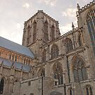 York Minster West by Kevin Bailey