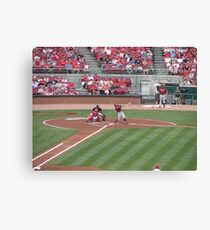 reds win Canvas Print