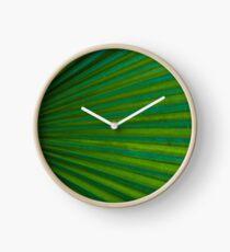 Tropical Leaf  Clock