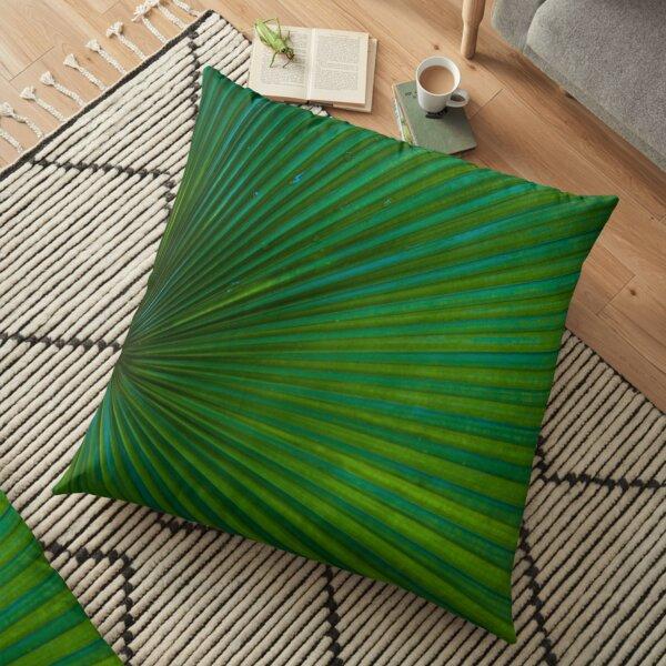Tropical Leaf  Floor Pillow