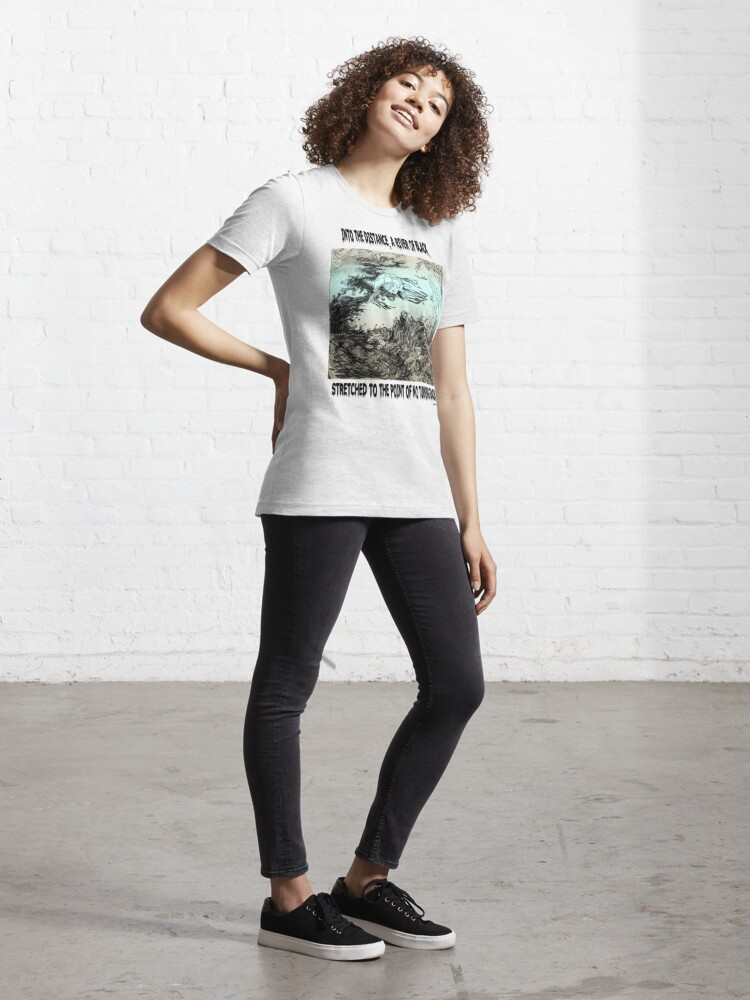 Alternate view of River Of Black Essential T-Shirt
