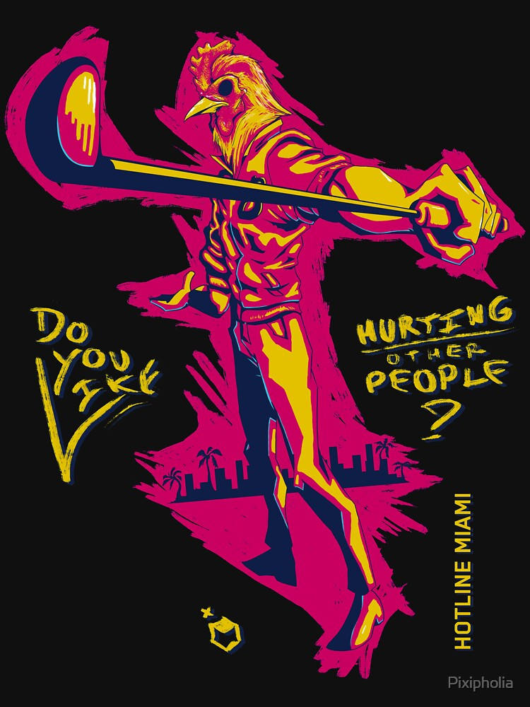 Do You Like Hurting Other People? [Hotline Miami] | Unisex T-Shirt