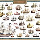 Poster of Renaissance Ships by TheCollectioner