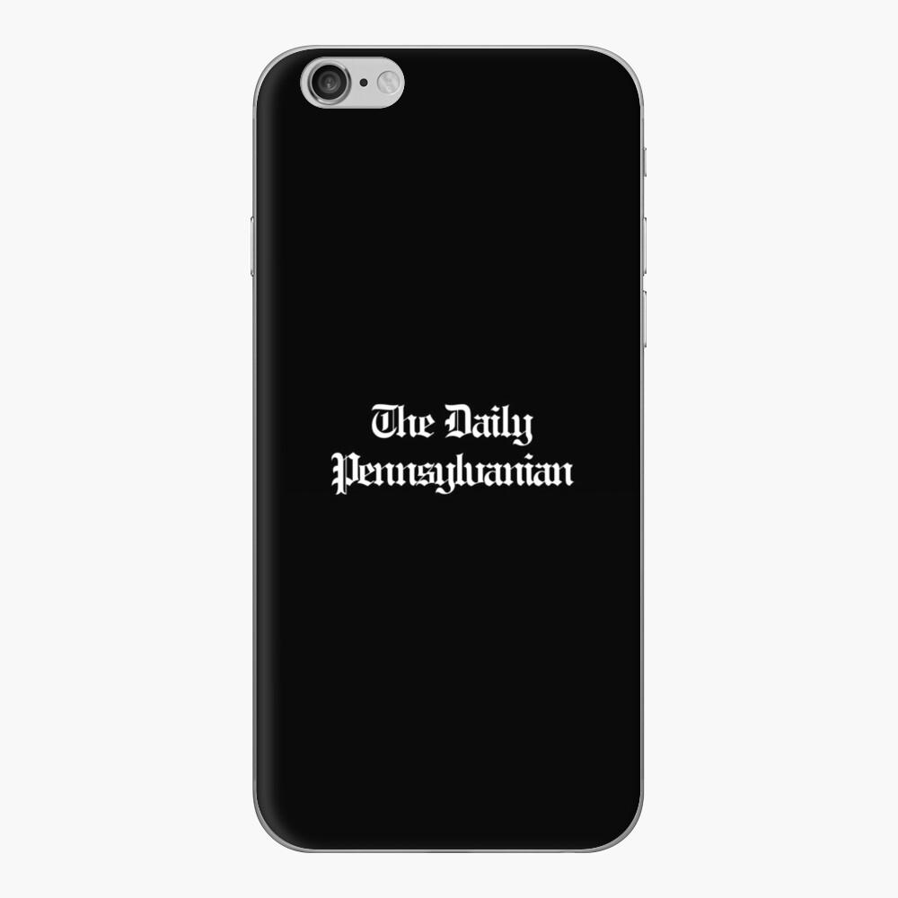 The DP Multi-line White Wordmark iPhone Skin