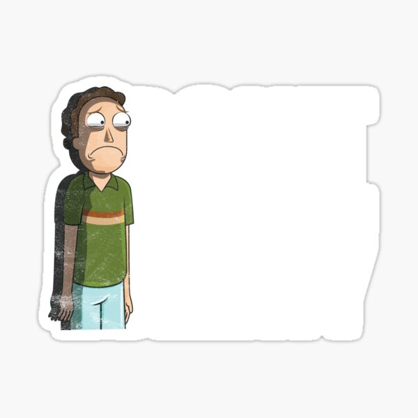Don't Be A Jerry - Rick And Morty  Sticker