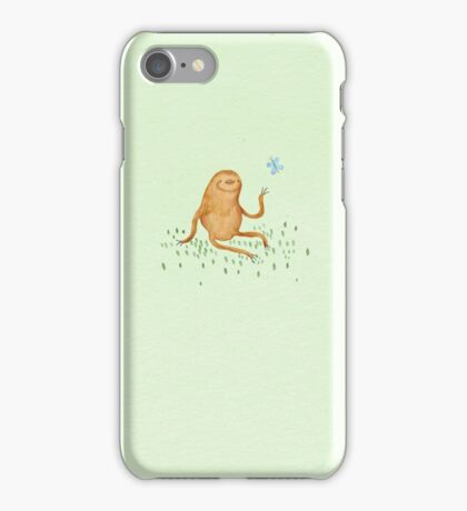 Sloth & Butterfly iPhone Case/Skin
